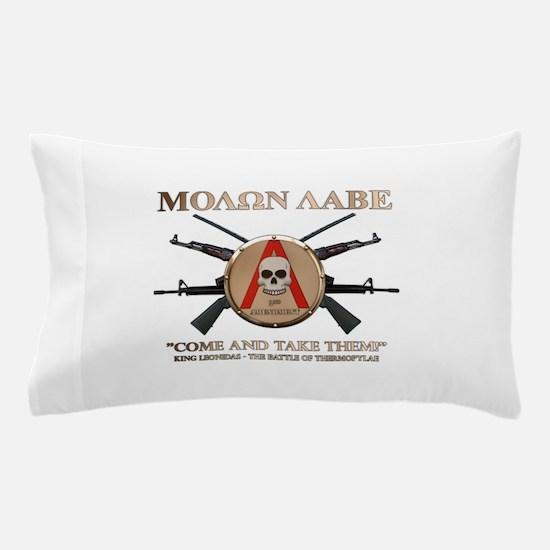 Molon Labe - Spartan Shield Pillow Case