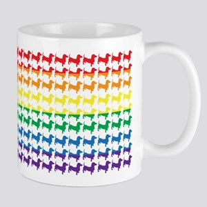 Rainbow Doxies Mug