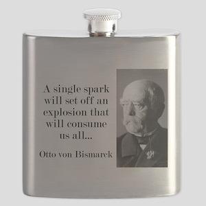 A Single Spark - Bismarck Flask