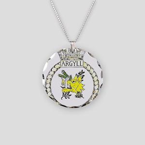 HMS Argyll Necklace Circle Charm