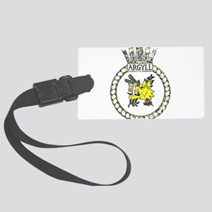 HMS Argyll Large Luggage Tag
