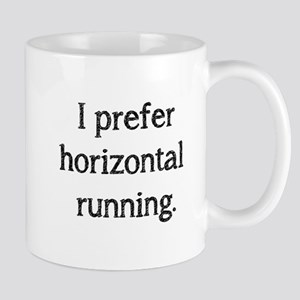 Horizontal Running Mug