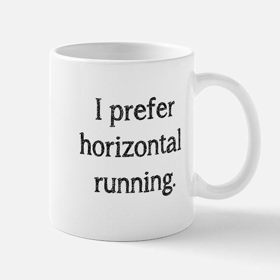Horizontal Running Mug