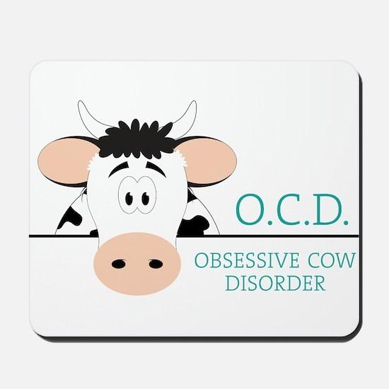 O C D Mousepad