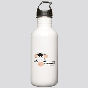 Mooooove Over Stainless Water Bottle 1.0L