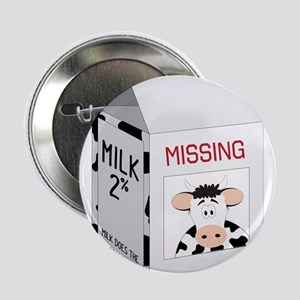 "Milk Carton 2.25"" Button"