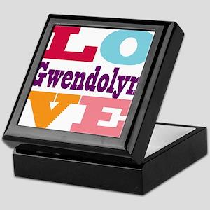 I Love Gwendolyn Keepsake Box