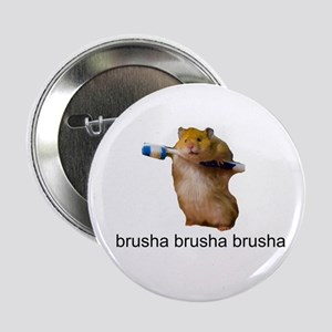 cute baby hamster brush your teeth - brusha brusha