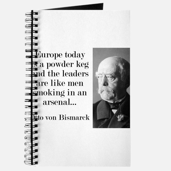 Europe Today Is A Powder Keg - Bismarck Journal