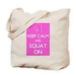 Keep cam and squat on Tote Bag