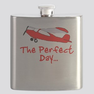 Red Airplane Flask