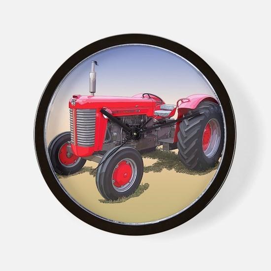 Funny Tractor pulls Wall Clock