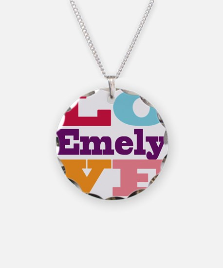 I Love Emely Necklace