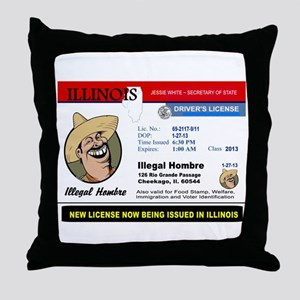DEMOCRATS HEAVEN Throw Pillow