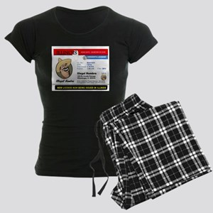 DEMOCRATS HEAVEN Women's Dark Pajamas
