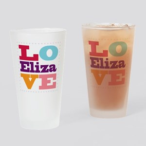 I Love Eliza Drinking Glass
