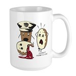 Donut Homicide Large Mug