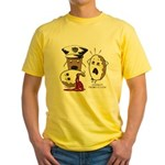 Donut Homicide Yellow T-Shirt