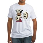 Donut Homicide Fitted T-Shirt