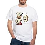 Donut Homicide White T-Shirt