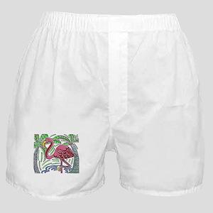 FLAMINGO MOLA DESIGN Boxer Shorts