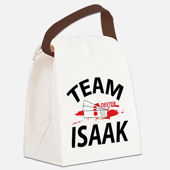 Team Isaak Canvas Lunch Bag