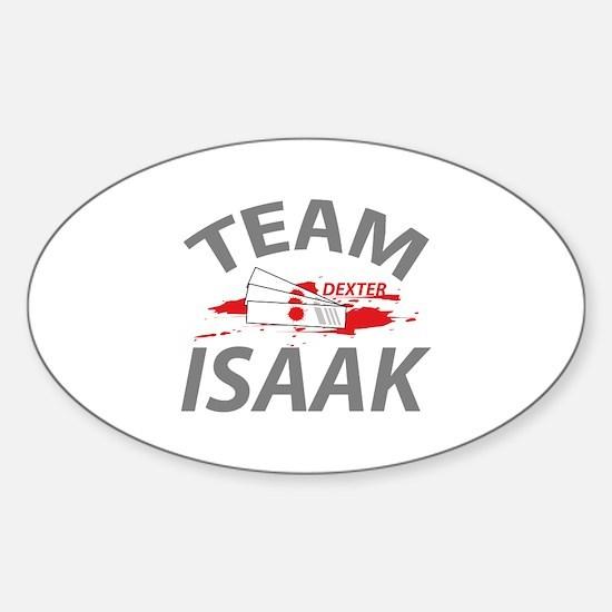 Team Isaak Sticker (Oval)