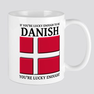 Lucky Enough To Be Danish Dansk Shirt Mug