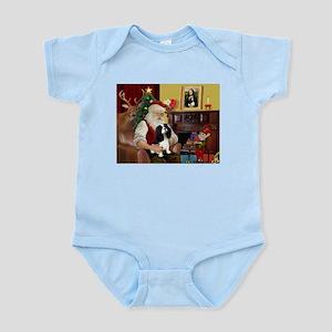 Santa's Tri Cavalier Infant Bodysuit