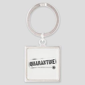 Quarantine - Dharma Initiativ Square Keychain