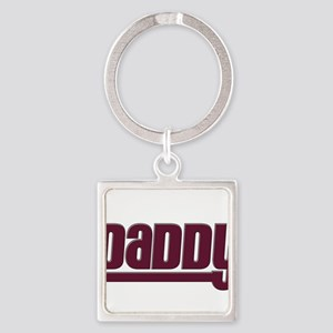 Daddy - Red Square Keychain