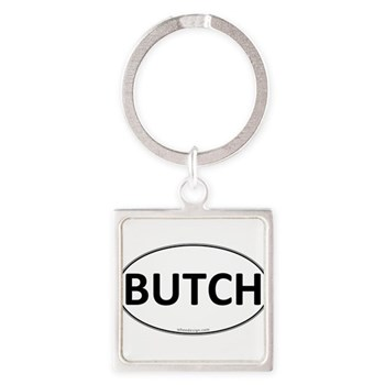 BUTCH Euro Oval Square Keychain