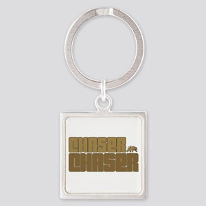 Chaser Chaser Square Keychain