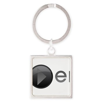 Player Square Keychain