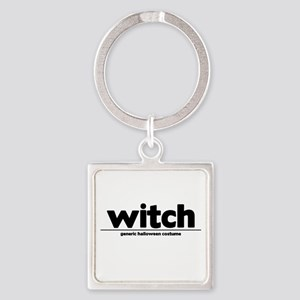 Generic witch Costume Square Keychain