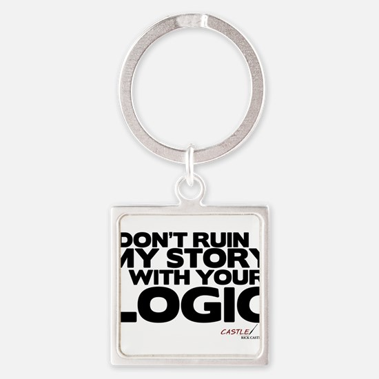 My Story... Your Logic Square Keychain