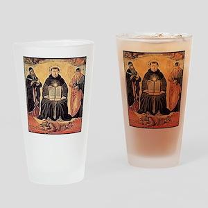 Saint Thomas Aquinas 1648 Drinking Glass