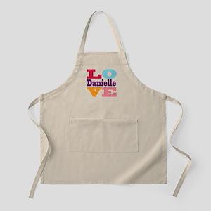 I Love Danielle Apron