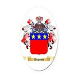 Auguste Oval Car Magnet