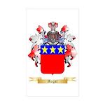 Augst Sticker (Rectangle 50 pk)