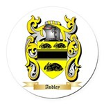 Audley Round Car Magnet