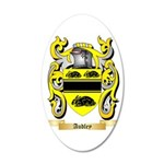Audley 35x21 Oval Wall Decal