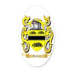 Audlay Oval Car Magnet