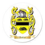 Audlay Round Car Magnet