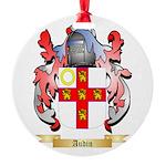 Audin Round Ornament