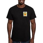 Aucourt Men's Fitted T-Shirt (dark)