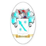 Auchmuty Sticker (Oval 50 pk)