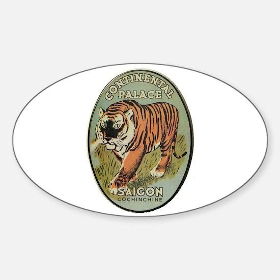Continental Palace Saigon Sticker (Oval)