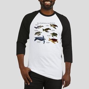 Sea Turtles of the World Baseball Jersey