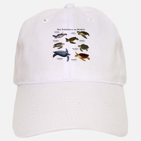 Sea Turtles of the World Baseball Baseball Cap